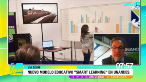 """Smart Learning"", el nuevo modelo educativo que impulsa la Universidad Los Andes"