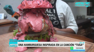 "The Steakhouse ofrece hamburguesas inspiradas en la canción ""Tusa"""