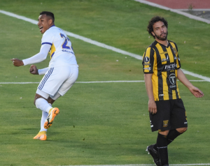 The Strongest cae 1-0 en condición de local ante Boca por la Copa Libertadores