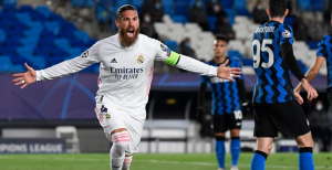 El Real Madrid gana 3-2 al Inter de Milán en la Champions League