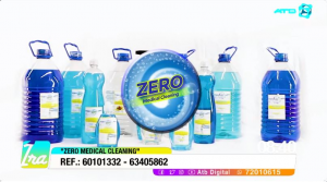 Zero Medical Cleaning ofrece productos antisépticos a base de amonio cuaternario de quinta generación