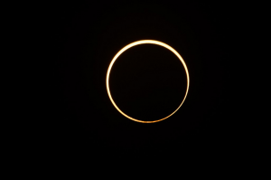 Inusual eclipse