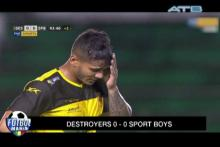 Destroyers y Sport Boys se perjudicaron